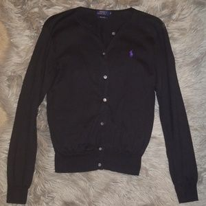 Polo Ralph Lauren Size M fitted Cardigan